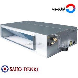 داکت اسپلیت سایجو دنکی ابزار تهویه دارای دو جزء می باشد. یک جزء هواساز و یا یونیت داخلی می باشد و جزء دیگر یونیت خارجی می باشد.